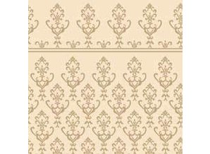 Euromini's Victorian, gold on beige