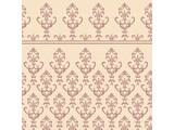 Euromini's Victorian, burgundy on beige