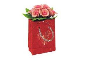 Euromini's Tas met roze rozen