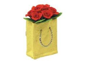 Euromini's Tas met rode rozen