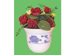 Euromini's Pot met rozen