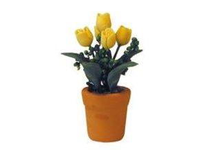Euromini's Gele tulpen in pot