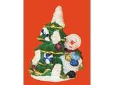 Euromini's Kerstboom met sneeuwpop