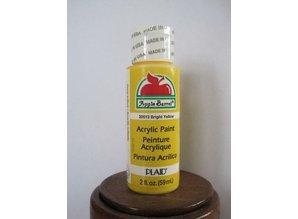Apple Barrel AB 20513 Bright Yellow