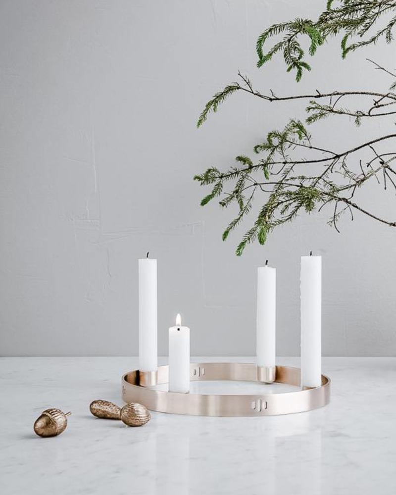 Candle holder circle