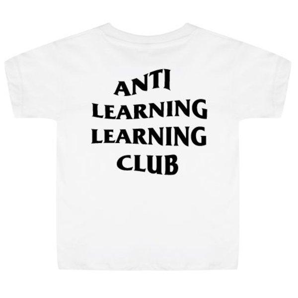 ANTI LEARNING CLUB KIDS T-SHIRT