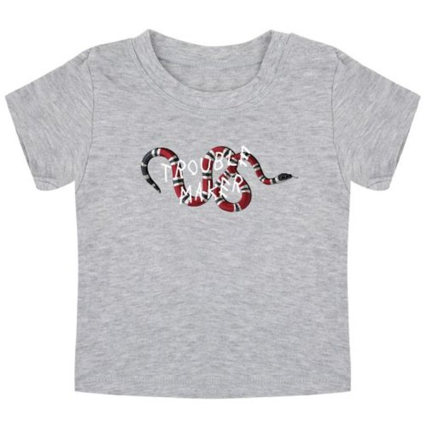 TROUBLE MAKER SNAKE BABY T-SHIRT