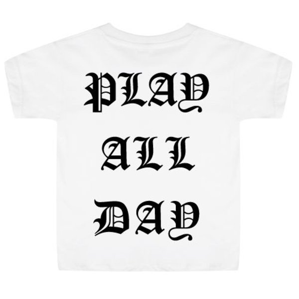 PLAY ALL DAY KIDS T-SHIRT