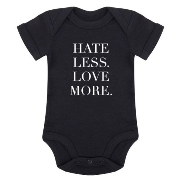 HATE LESS LOVE MORE ROMPER