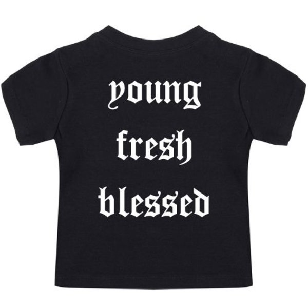 YOUNG FRESH BLESSED BABY T-SHIRT