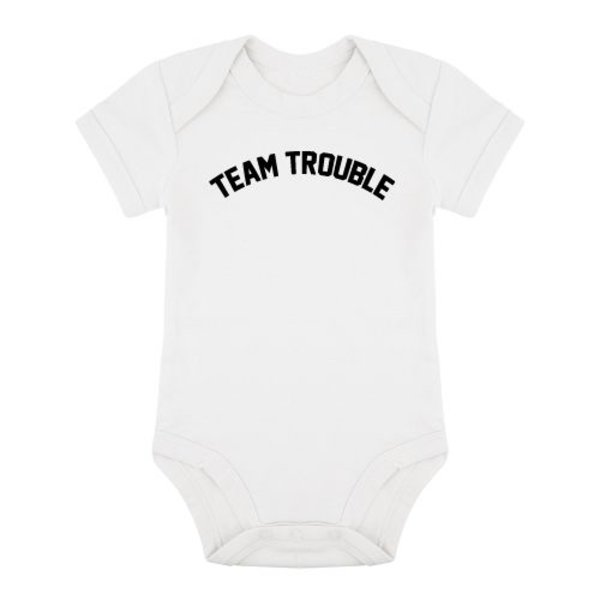 TEAM TROUBLE ROMPER