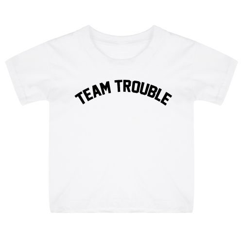 KIDZ DISTRICT TEAM TROUBLE KIDS T-SHIRT