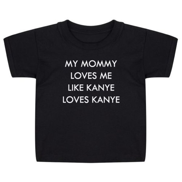 MY MOMMY LOVES ME KIDS T-SHIRT