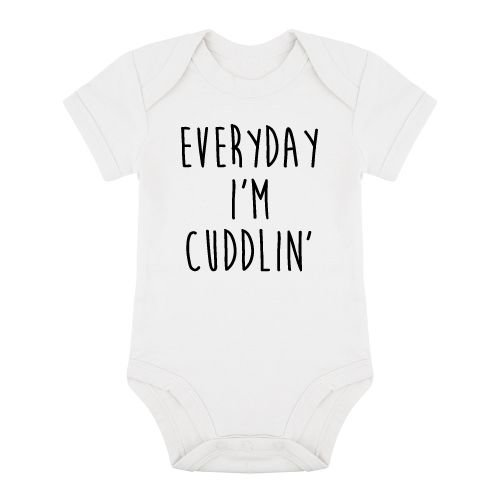 KIDZ DISTRICT EVERYDAY I'M CUDDLIN' ROMPER