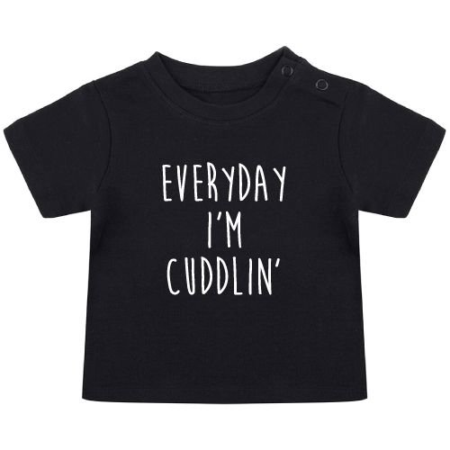 KIDZ DISTRICT EVERYDAY I'M CUDDLIN' BABY T-SHIRT