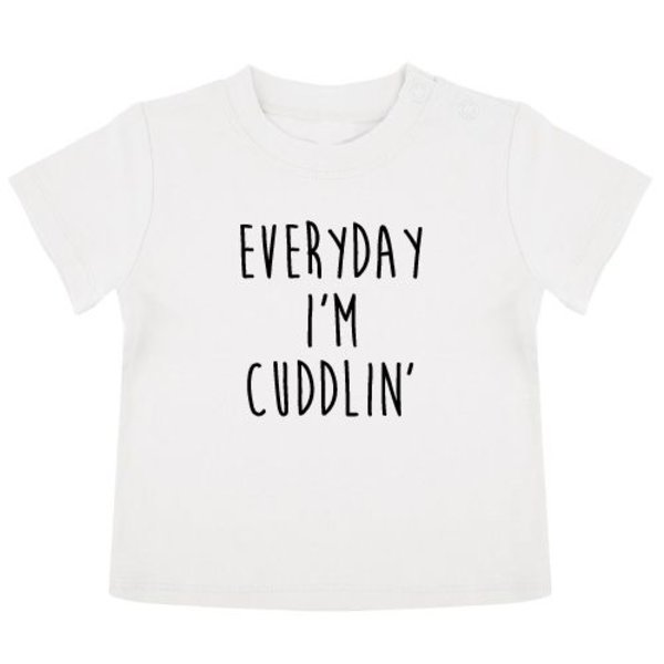 EVERYDAY I'M CUDDLIN' BABY T-SHIRT