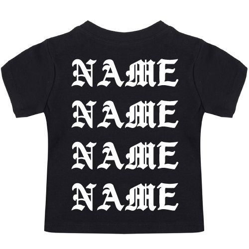 KIDZ DISTRICT PABLO NAME BABY T-SHIRT (GEPERSONALISEERD)