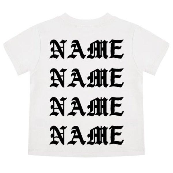 PABLO NAME BABY T-SHIRT (GEPERSONALISEERD)