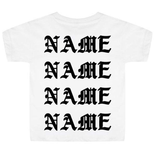 PABLO NAME KIDS T-SHIRT (GEPERSONALISEERD)