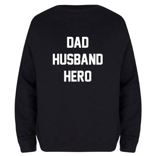 KIDZ DISTRICT DAD HUSBAND HERO SWEATER