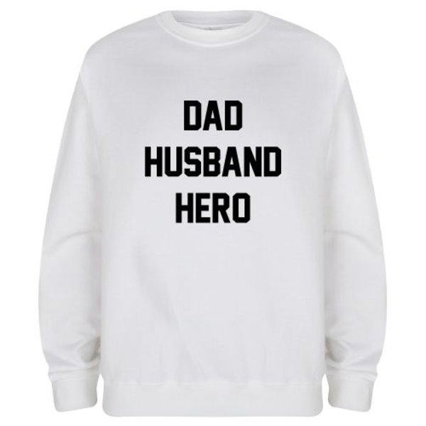 DAD HUSBAND HERO SWEATER