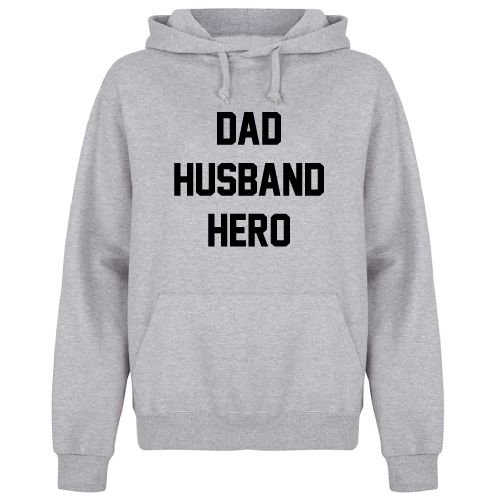 KIDZ DISTRICT DAD HUSBAND HERO HOODIE