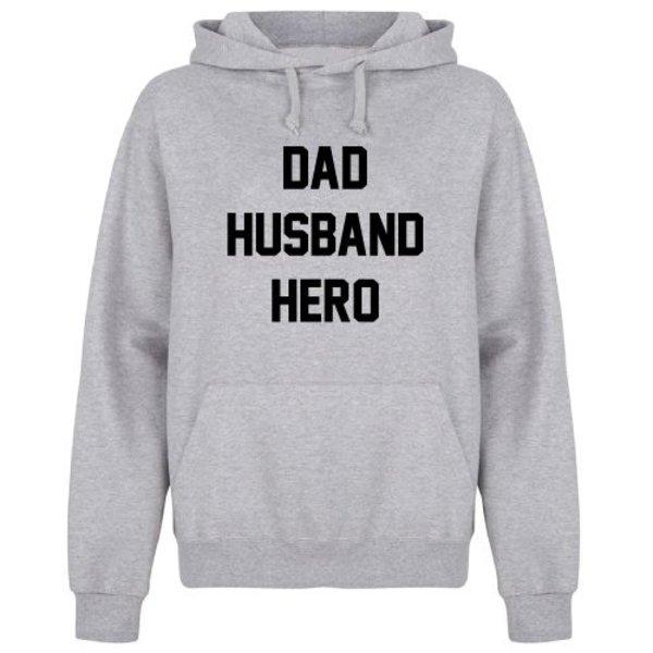 DAD HUSBAND HERO HOODIE