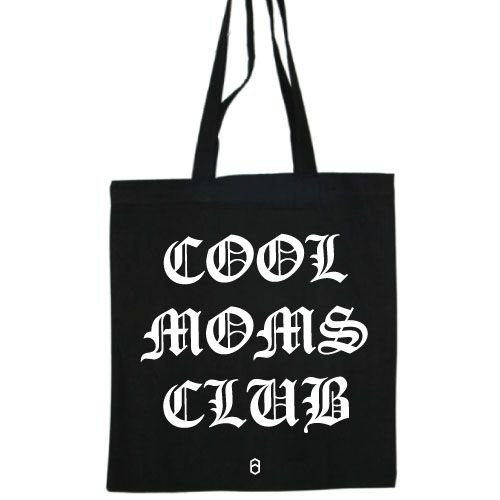 KIDZ DISTRICT COOL MOMS CLUB COTTON BAG