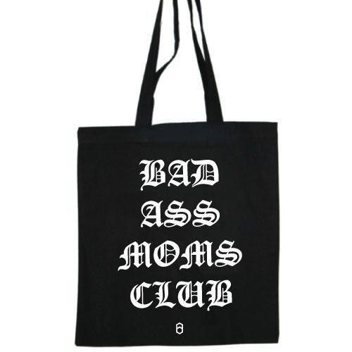KIDZ DISTRICT BADASS MOMS CLUB COTTON BAG