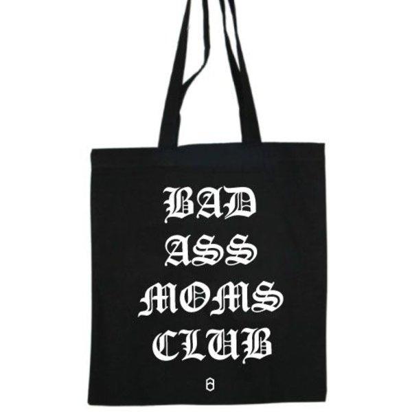 BADASS MOMS CLUB COTTON BAG