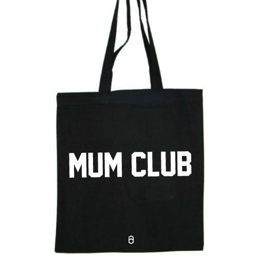 KIDZ DISTRICT MUM CLUB COTTON BAG