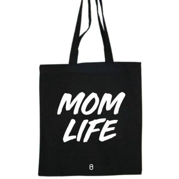MOM LIFE COTTON BAG