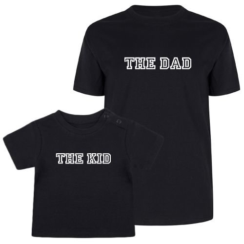 KIDZ DISTRICT THE DAD & THE KID TWINNING T-SHIRTS