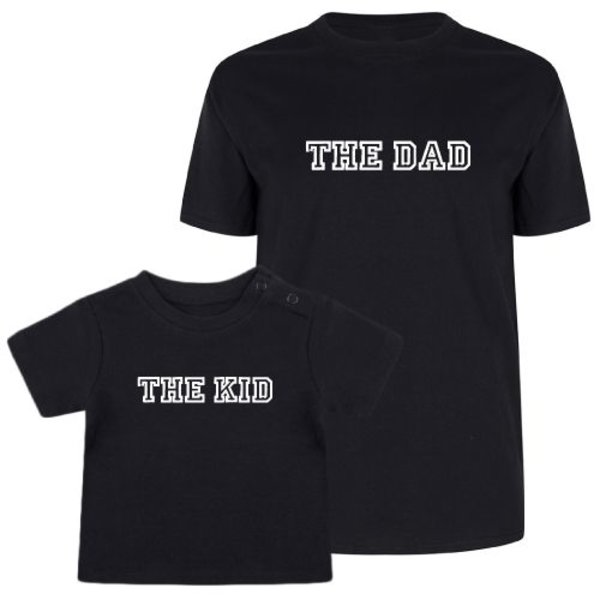 THE DAD & THE KID TWINNING T-SHIRTS