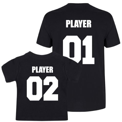 KIDZ DISTRICT PLAYERS TWINNING T-SHIRTS