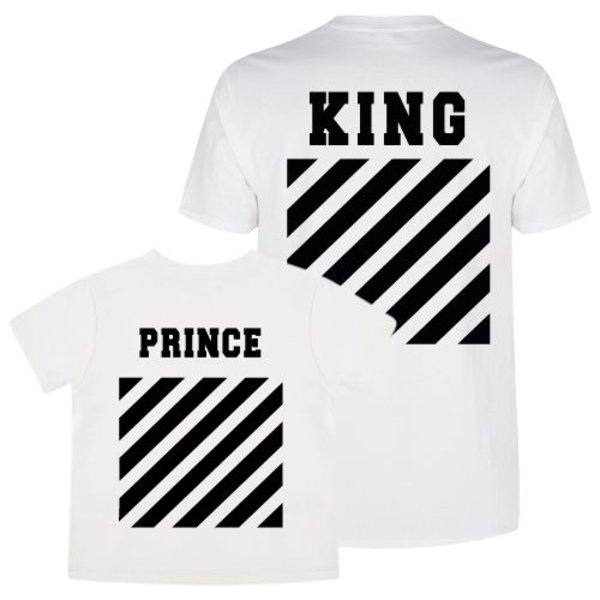 KING & PRINCE OFF TWINNING T-SHIRTS