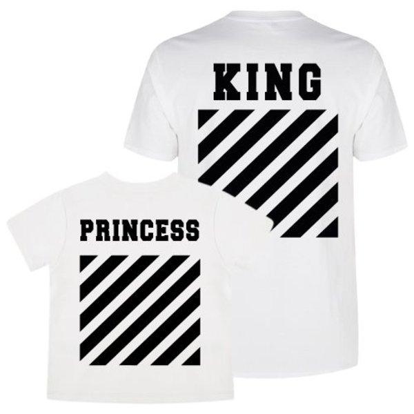 KING & PRINCESS OFF TWINNING T-SHIRTS
