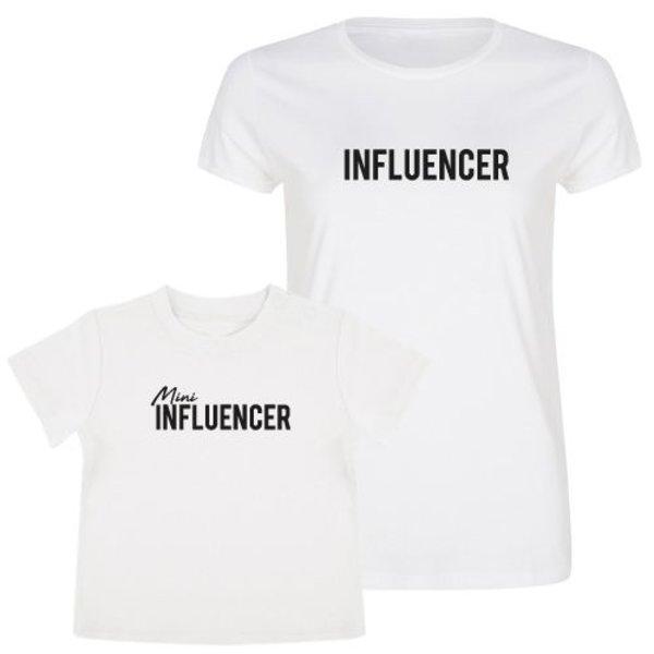 INFLUENCER TWINNING T-SHIRTS
