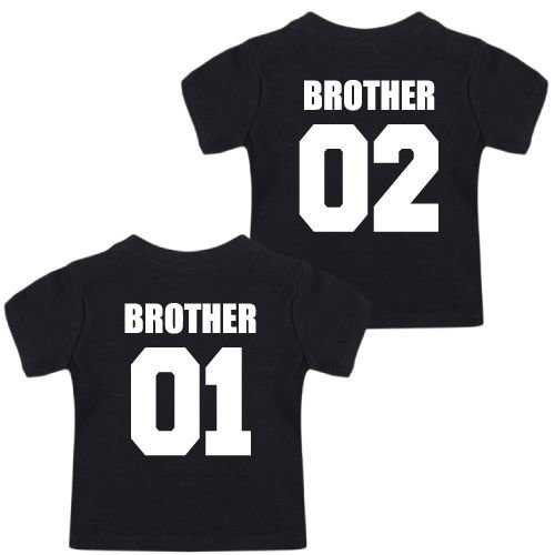 KIDZ DISTRICT TEAM BROTHERS TWINNING T-SHIRTS