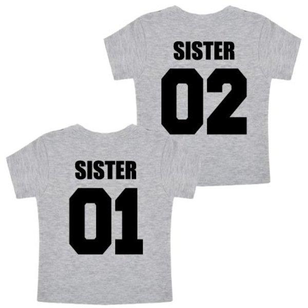 TEAM SISTERS TWINNING T-SHIRTS