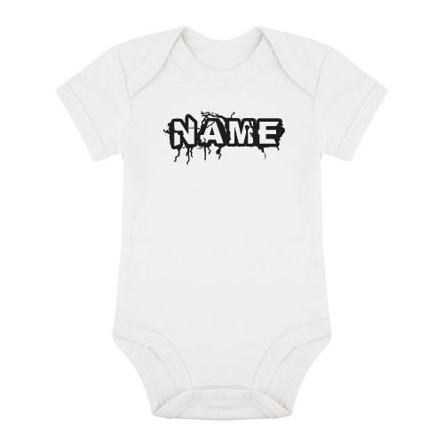 KIDZ DISTRICT THUNDER NAME ROMPER (GEPERSONALISEERD)