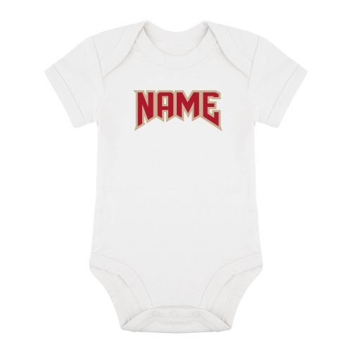 KIDZ DISTRICT ROCK NAME ROMPER (GEPERSONALISEERD)