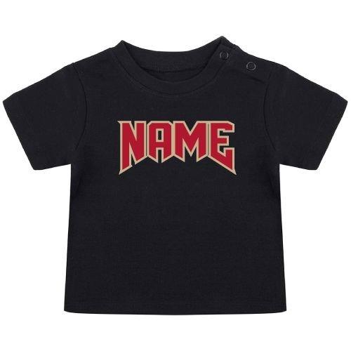 KIDZ DISTRICT ROCK NAAM BABY T-SHIRT (GEPERSONALISEERD)