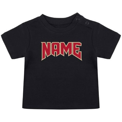 KIDZ DISTRICT ROCK NAME BABY T-SHIRT (GEPERSONALISEERD)