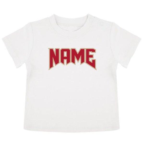 ROCK NAME BABY T-SHIRT (GEPERSONALISEERD)