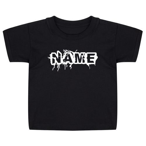 KIDZ DISTRICT THUNDER NAAM KIDS T-SHIRT (GEPERSONALISEERD)