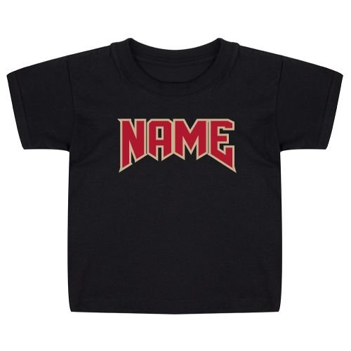 KIDZ DISTRICT ROCK NAAM KIDS T-SHIRT (GEPERSONALISEERD)