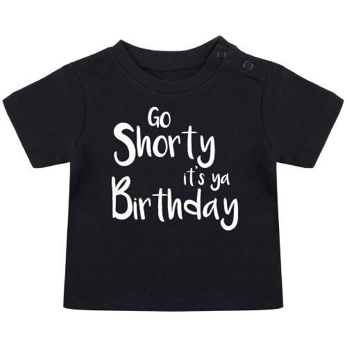 KIDZ DISTRICT IT'S YA BIRTHDAY BABY T-SHIRT