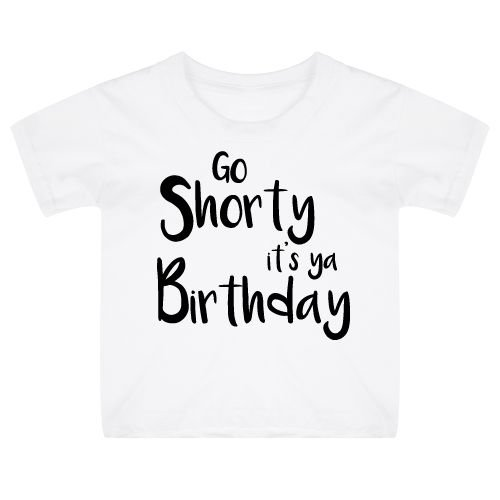 KIDZ DISTRICT IT'S YA BIRTHDAY KIDS T-SHIRT