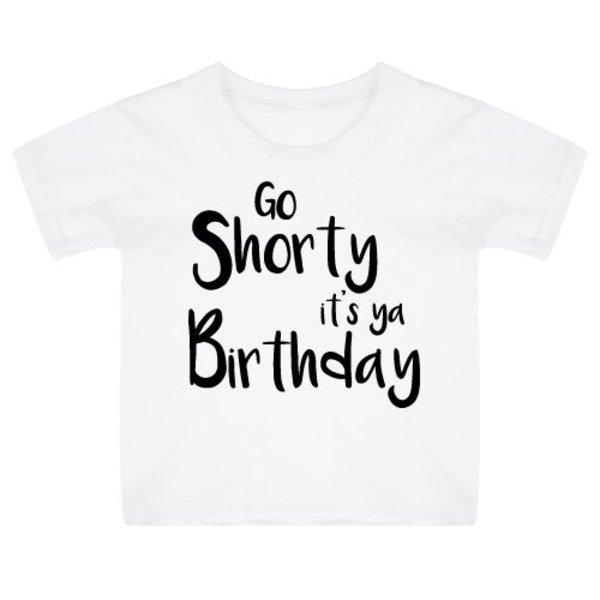 IT'S YA BIRTHDAY KIDS T-SHIRT